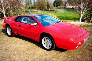 1988 LOTUS ESPRIT TURBO - LOW MILEAGE BEAUTY - POSS PX  SOLD