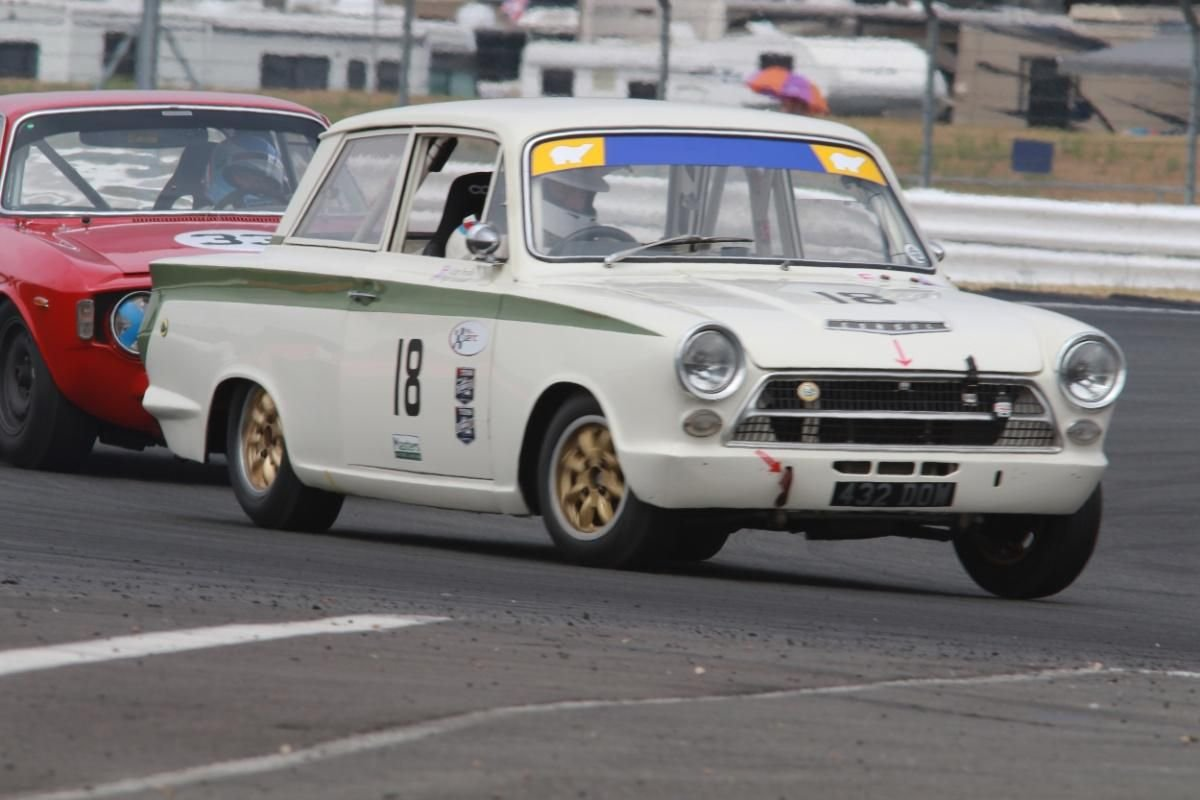 1963 FIA Lotus Cortina Race Car Fresh engine build For Sale (picture 1 of 6)