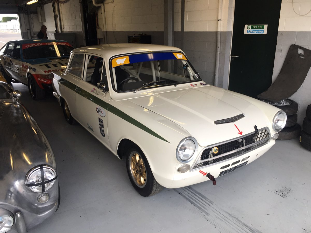 1963 FIA Lotus Cortina Race Car Fresh engine build For Sale (picture 4 of 6)
