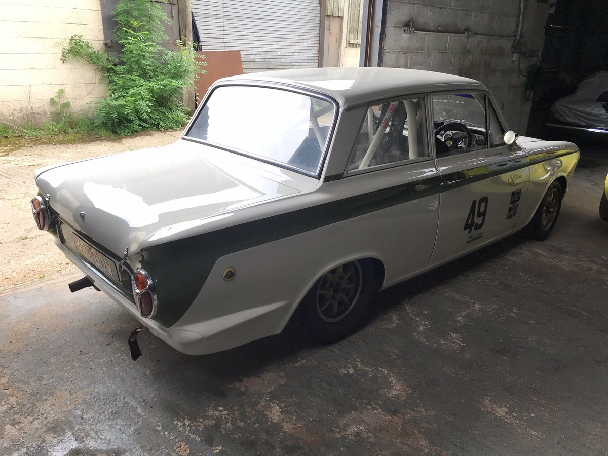 1963 FIA Lotus Cortina Race Car Fresh engine build For Sale (picture 6 of 6)