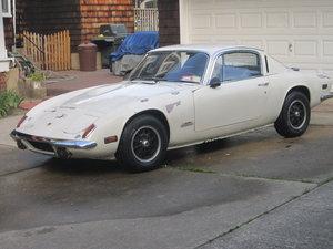 "1972 '72 Lotus Elan Plus2 ""S"" runs but not drivable"