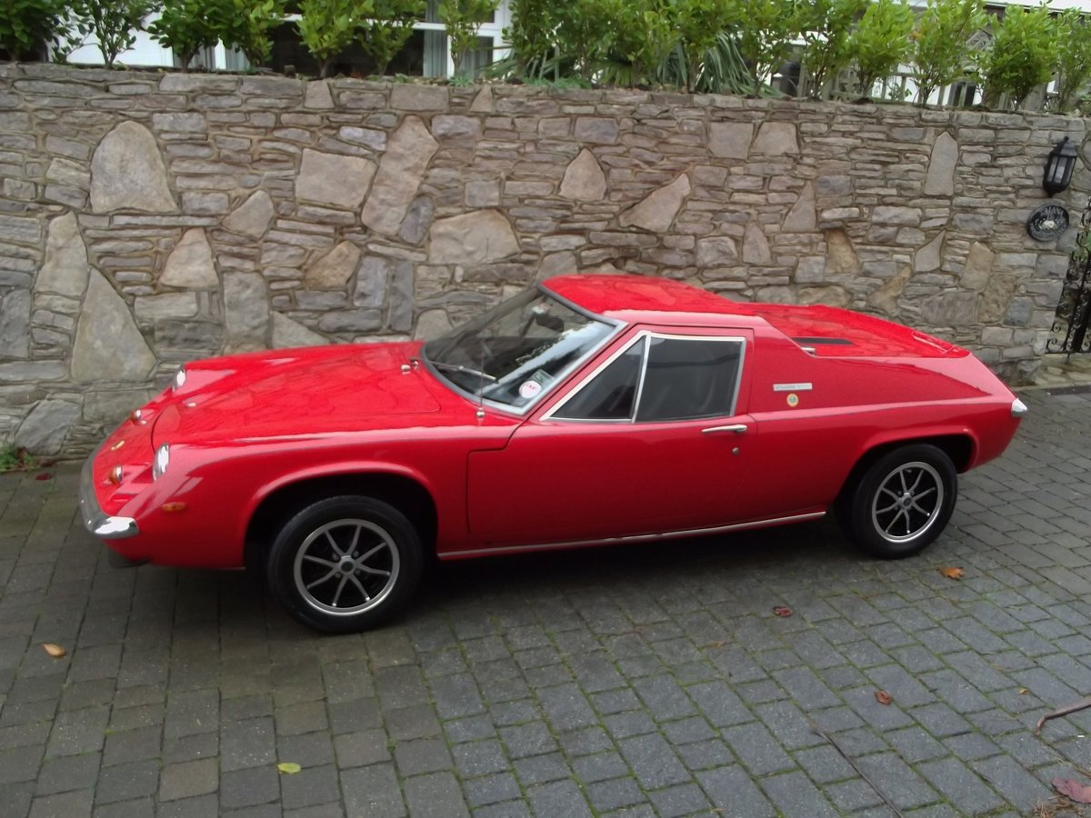 1971 LOTUS EUROPA TWIN CAM SOLD (picture 1 of 6)