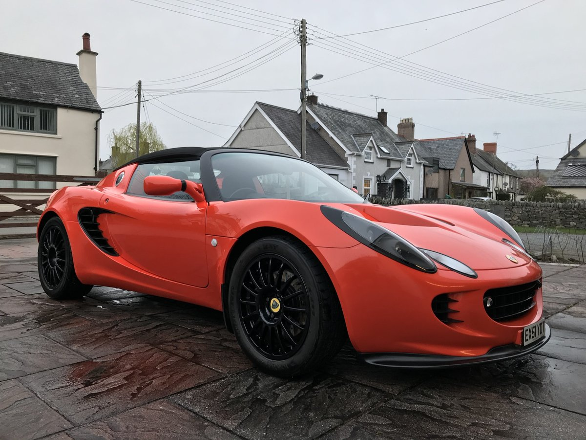 2001 Lotus Elise S2 Racetech - Lava Orange For Sale (picture 1 of 6)