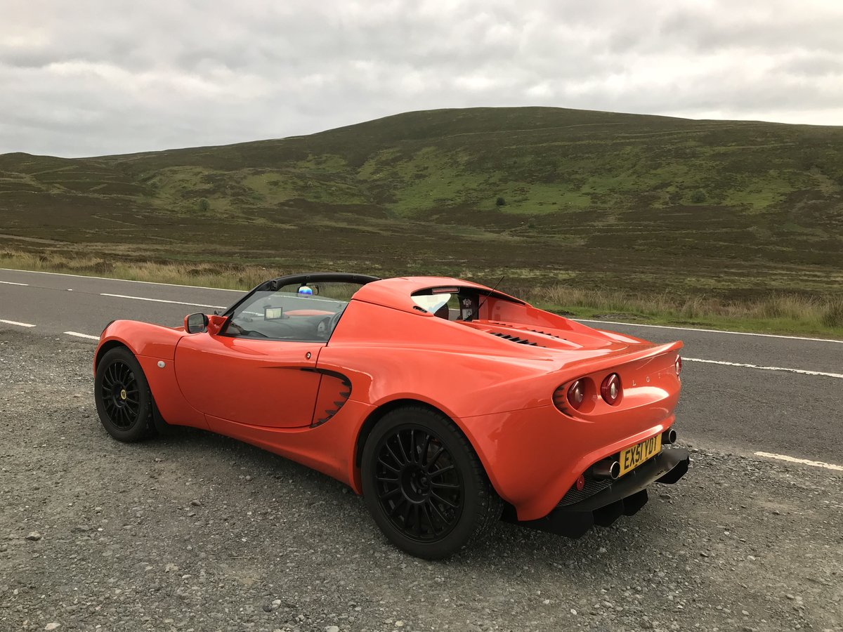 2001 Lotus Elise S2 Racetech - Lava Orange For Sale (picture 2 of 6)