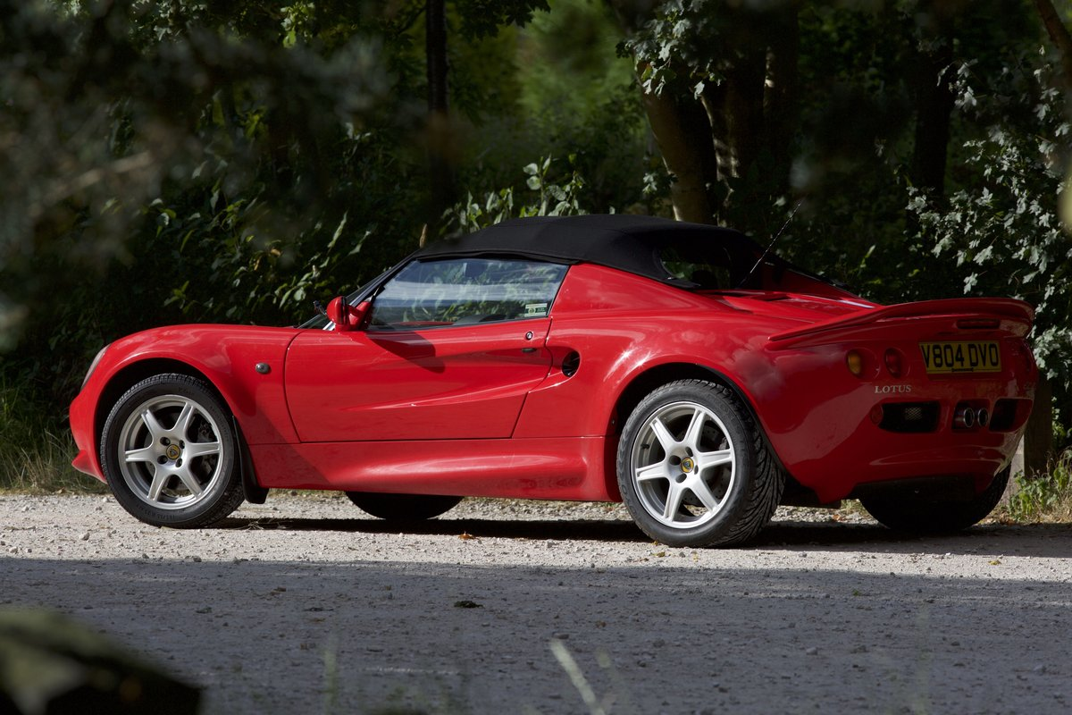 1999 Lovely Red Lotus Elise 111S ****NOW SOLD*** SOLD (picture 1 of 6)