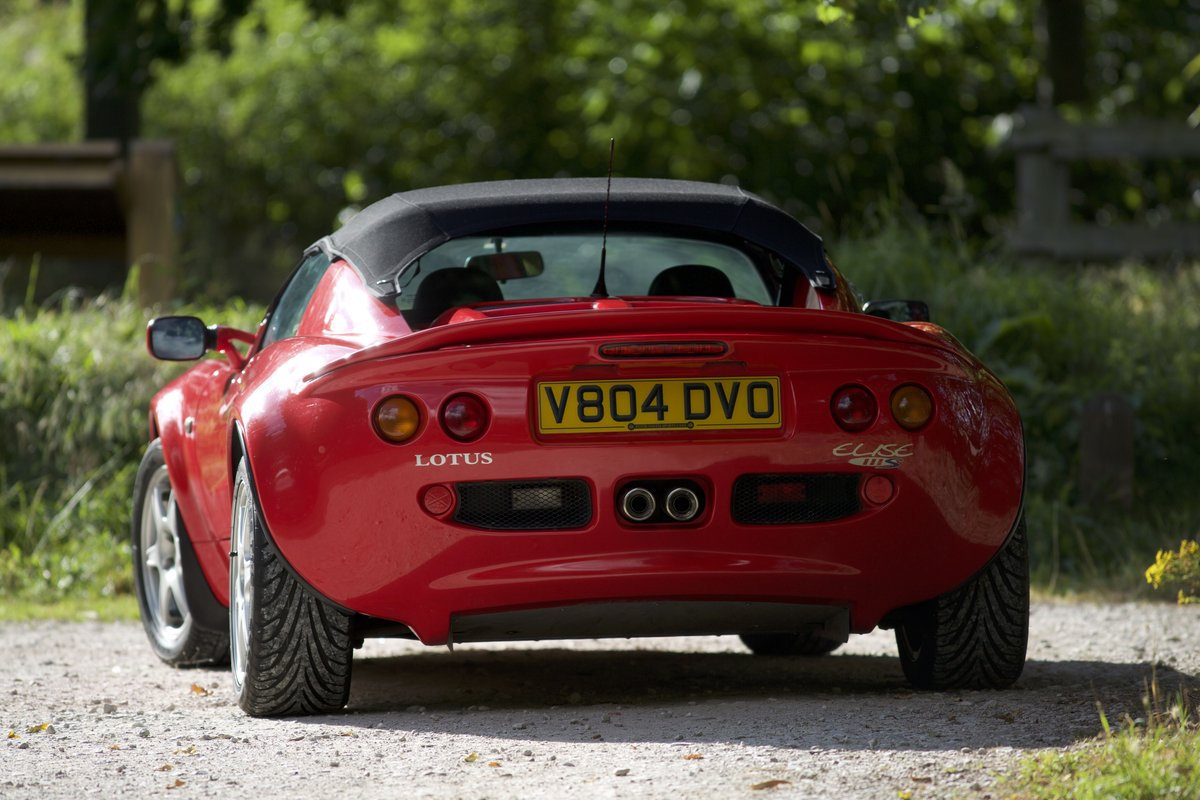 1999 Lovely Red Lotus Elise 111S ****NOW SOLD*** SOLD (picture 2 of 6)