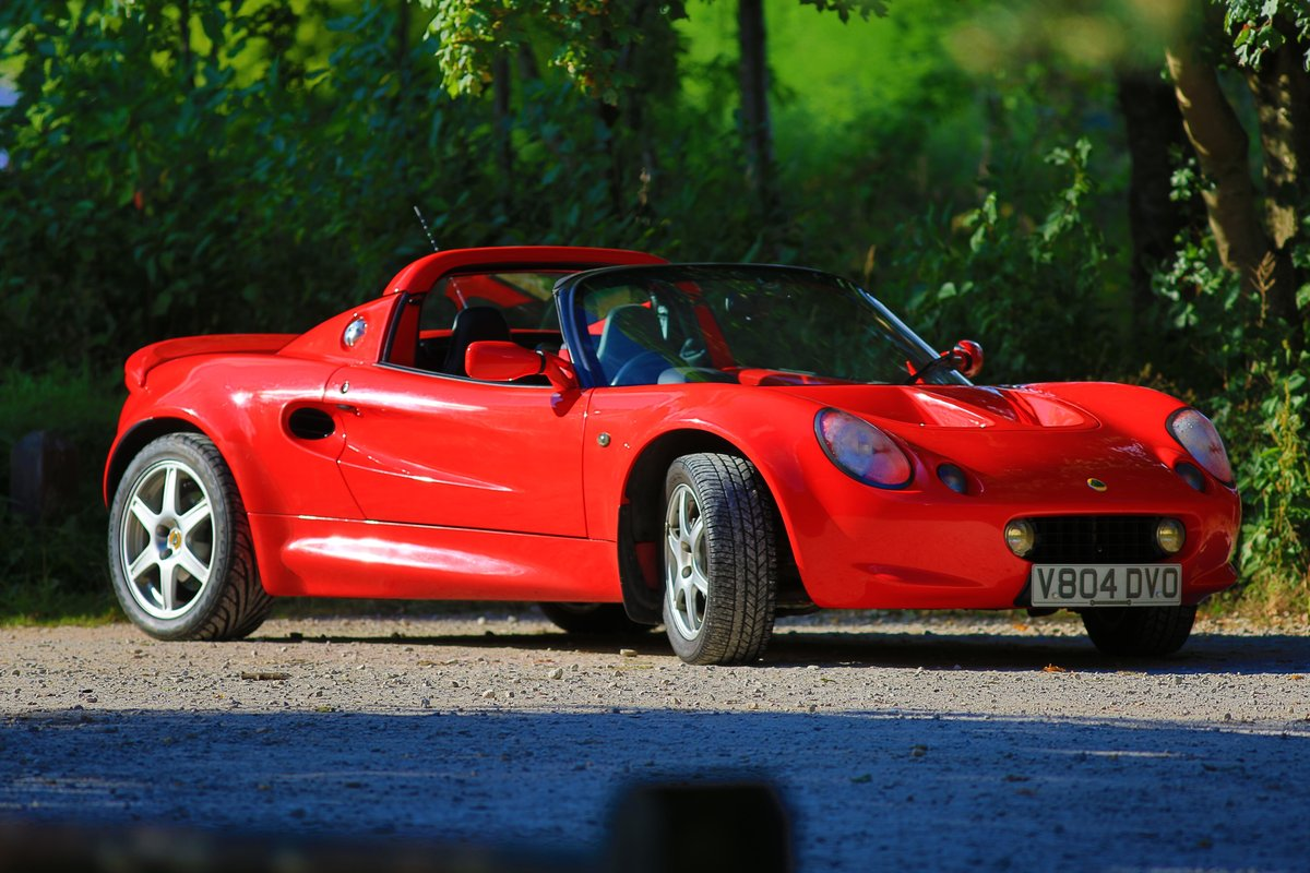1999 Lovely Red Lotus Elise 111S ****NOW SOLD*** SOLD (picture 3 of 6)