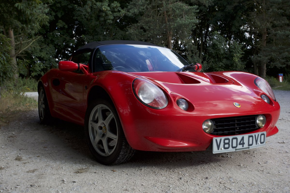1999 Lovely Red Lotus Elise 111S ****NOW SOLD*** SOLD (picture 6 of 6)