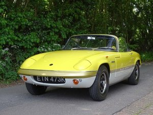 1971 Lotus Elan Sprint Drophead Coupe For Sale by Auction