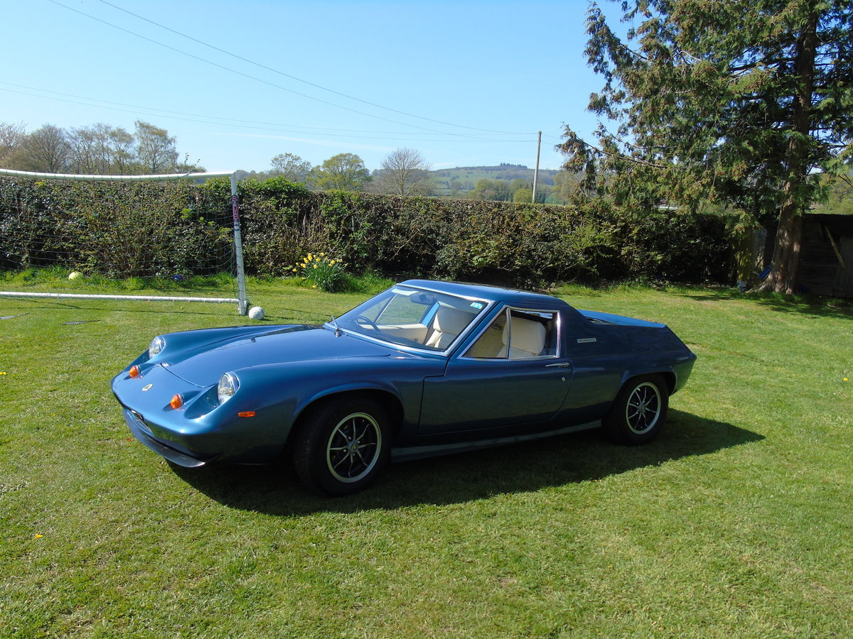 Lotus Europa 1972 Twincam *** NOW SOLD*** For Sale (picture 1 of 6)