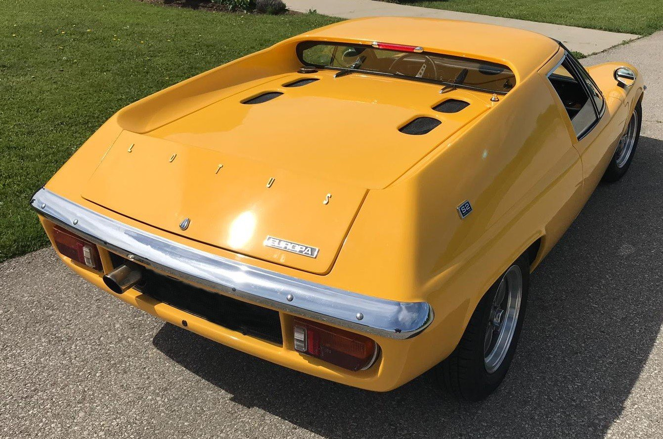 1968 COMING SOON-LOTUS EUROPA SERIES 2 For Sale (picture 4 of 6)
