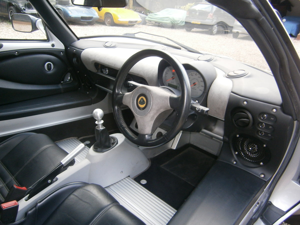 2005 LOTUS ELISE 111R 16V TOURING VERY LOW MILES  EXCELLENT CAR For Sale (picture 5 of 6)