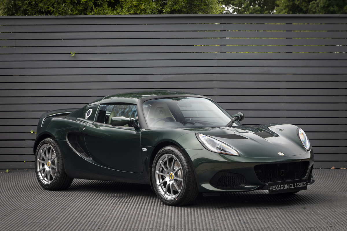 2019 LOTUS ELISE 220 SPORT  (NEW) SOLD (picture 1 of 24)