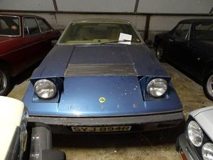 1977 LOTUS Elite (rhd) For Sale by Auction