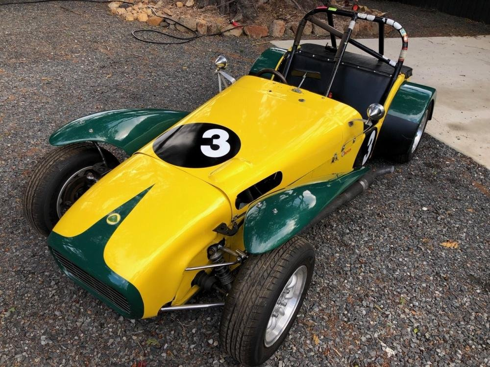 1962 LOTUS SUPER 7 SERIES II 'CLUBMAN' RACING CAR For Sale by Auction (picture 1 of 6)