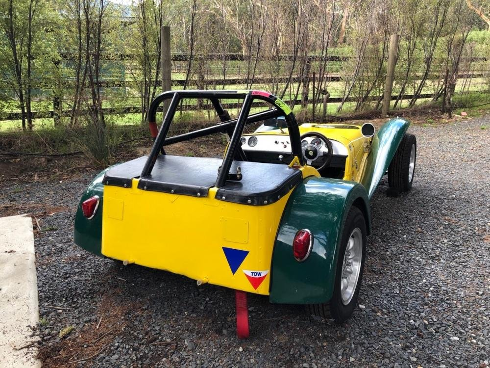1962 LOTUS SUPER 7 SERIES II 'CLUBMAN' RACING CAR For Sale by Auction (picture 2 of 6)