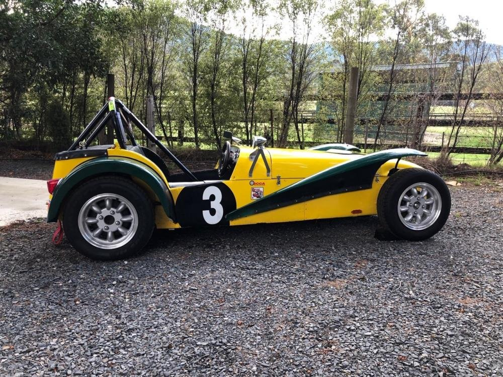 1962 LOTUS SUPER 7 SERIES II 'CLUBMAN' RACING CAR For Sale by Auction (picture 3 of 6)