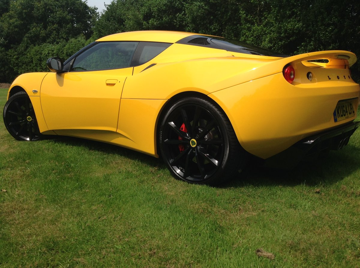 2014 Lotus Evora S Sports Racer 4 V6 For Sale (picture 2 of 6)