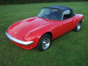 1967(F) Lotus Elan S3 Spyder Drophead Coupe  For Sale