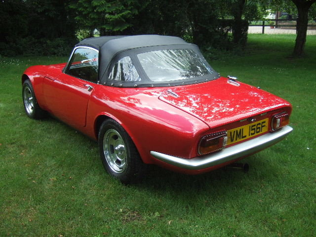1967(F) Lotus Elan S3 Spyder Drophead Coupe  For Sale (picture 3 of 6)