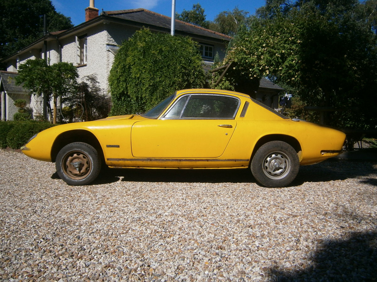 LOTUS ELAN +2 1969 LESS ENGINE & BOX IDEAL **SOLD** For Sale (picture 1 of 6)