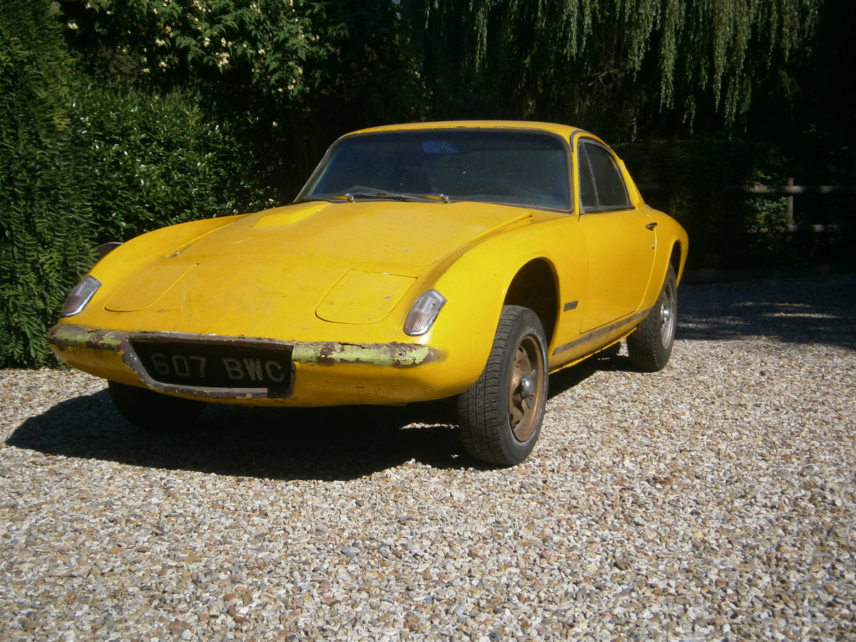 LOTUS ELAN +2 1969 LESS ENGINE & BOX IDEAL **SOLD** For Sale (picture 2 of 6)