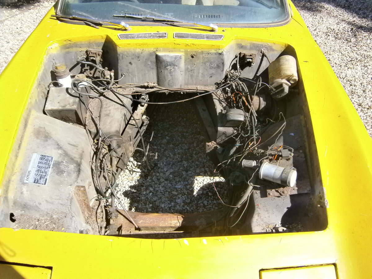 LOTUS ELAN +2 1969 LESS ENGINE & BOX IDEAL **SOLD** For Sale (picture 5 of 6)
