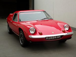 1972 LOTUS EUROPA TWIN CAM SOLD