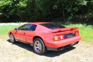 1989 Lotus Turbo Esprit = Clean Red 37k miles Rare $22.9k For Sale (picture 2 of 6)