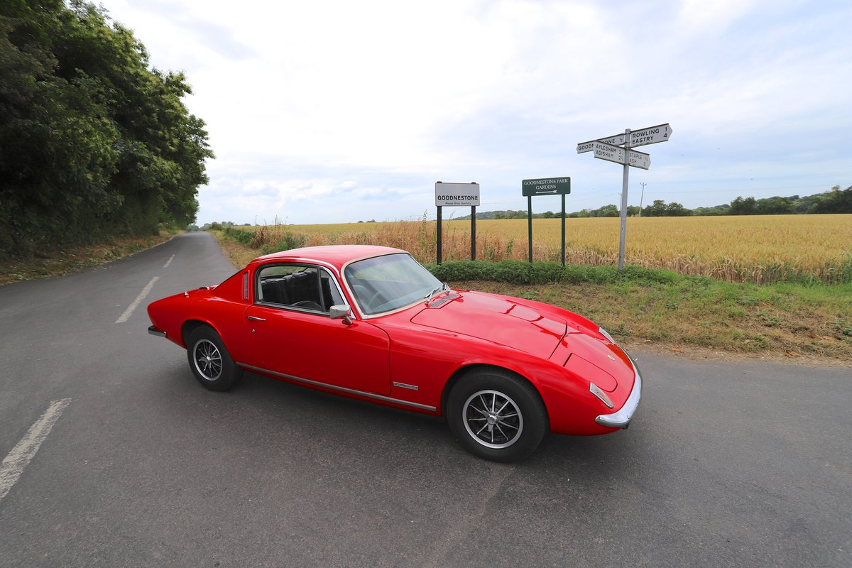 Lotus Elan+2S130/4, 1972.  Superb in Carnival red. For Sale (picture 3 of 6)