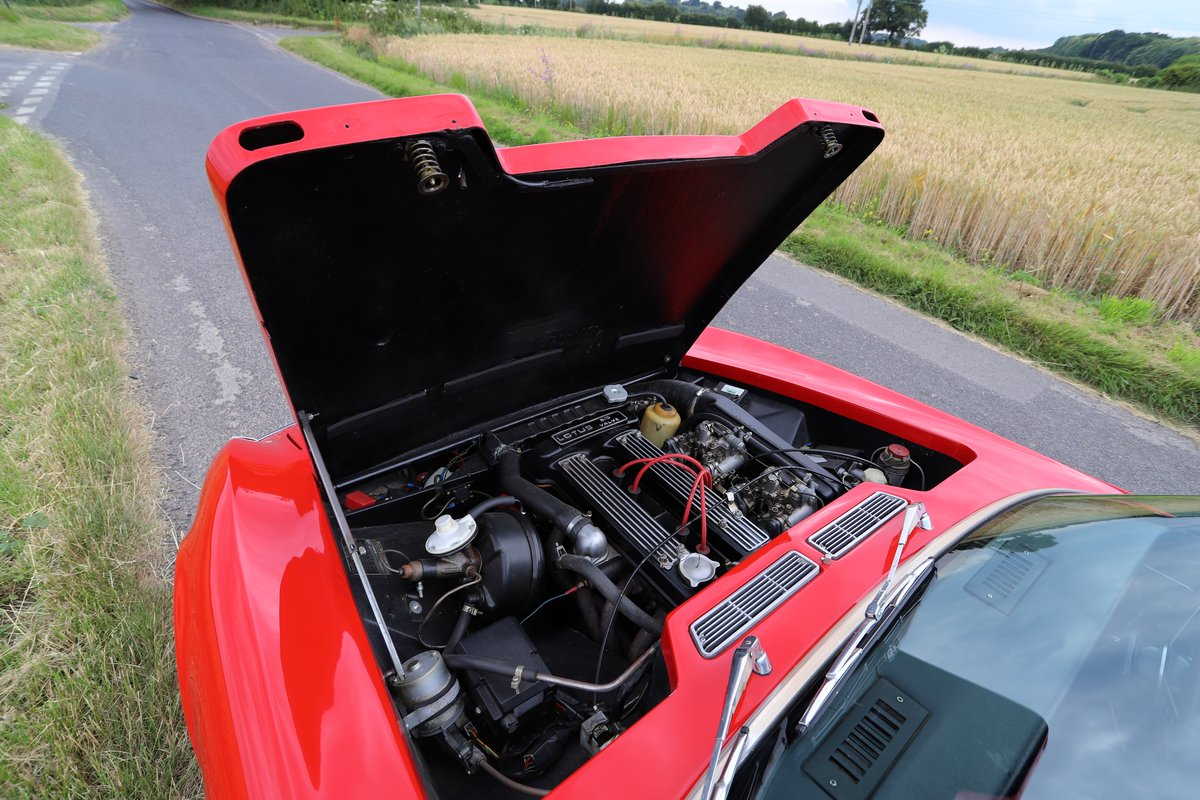 Lotus Elan+2S130/4, 1972.  Superb in Carnival red. For Sale (picture 5 of 6)