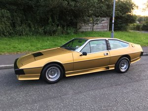 1979 79 Lotus Eclat 521. Low mileage. low owners. For Sale