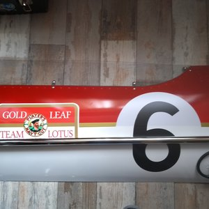 Jim Clark Golf Leaf panel For Sale