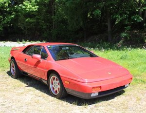 1989 Lotus Turbo Esprit - Lot 631 For Sale by Auction