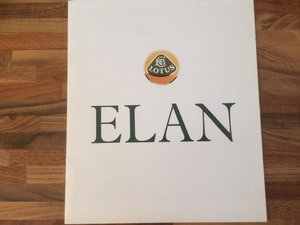 Lotus brochures x 3 Elan, Elite, Esprit.
