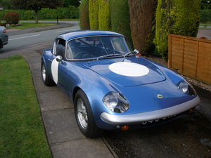 1964 Lotus Elan GTS Race car
