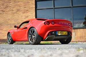 2003 Lotus Elise S2 111S For Sale by Auction