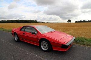 Lotus Esprit Turbo, 1984.  Superb example in Calypso Red