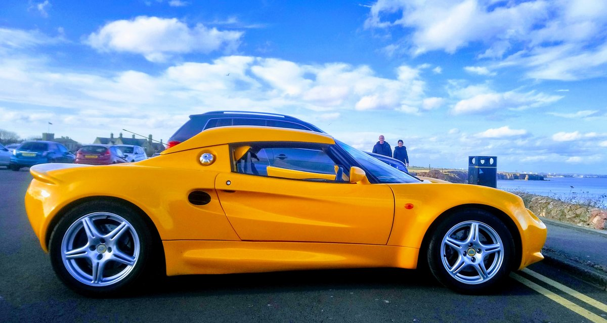 1998 S1 Lotus Elise Yellow For Sale (picture 1 of 3)
