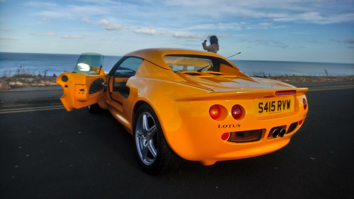 1998 S1 Lotus Elise Yellow For Sale (picture 3 of 3)