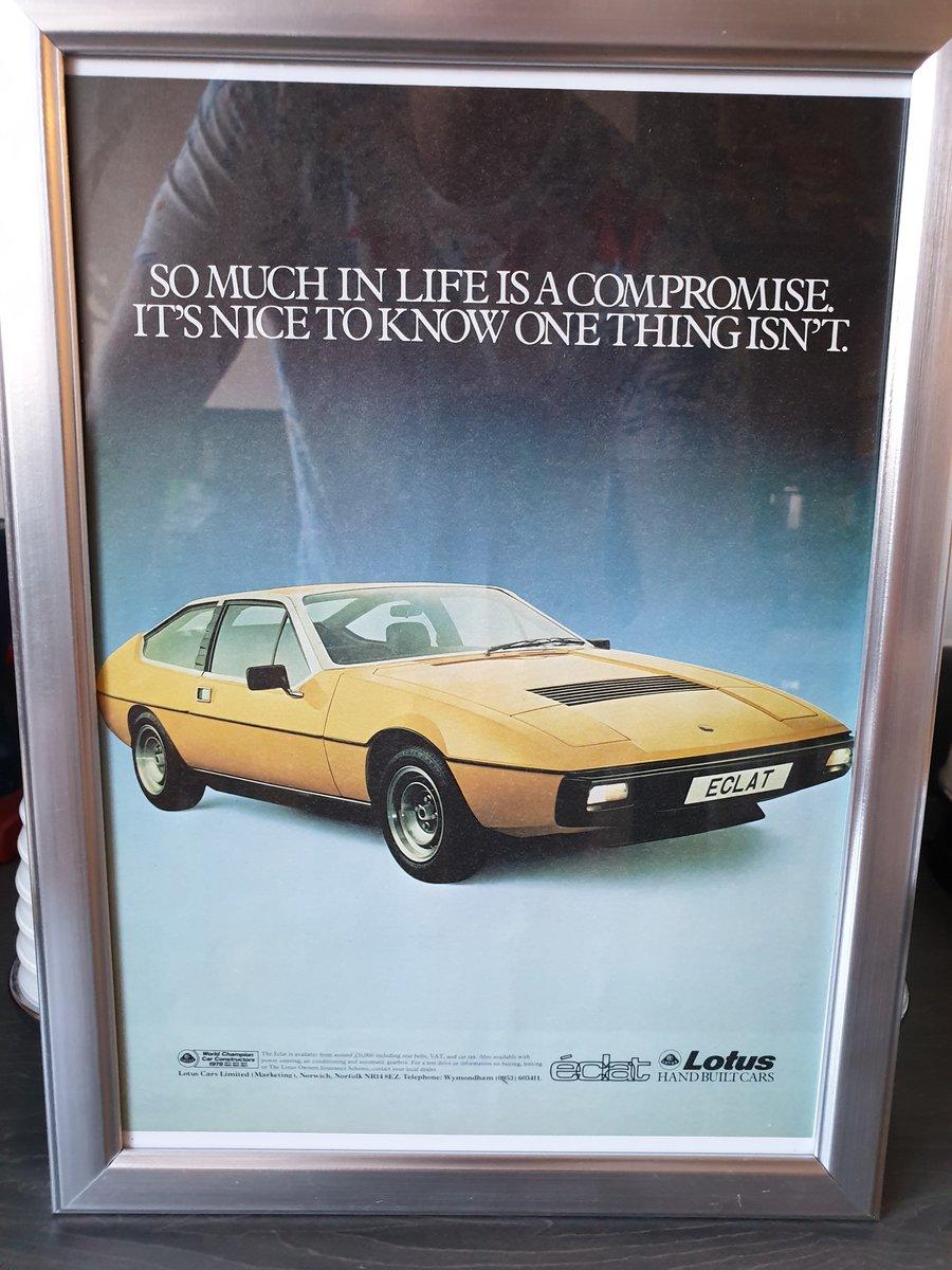 1979 Lotus Eclat Advert Original  For Sale (picture 1 of 2)