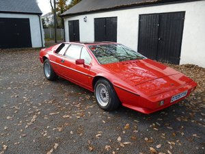 1987 Lotus Esprit S3 SOLD