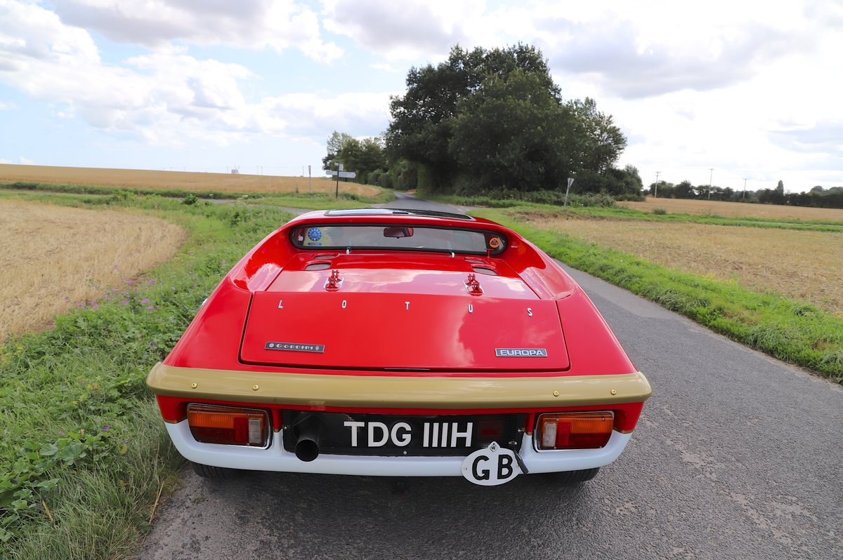 Lotus Europa S2, 1970. Rebuilt and re-engineered.  For Sale (picture 2 of 6)
