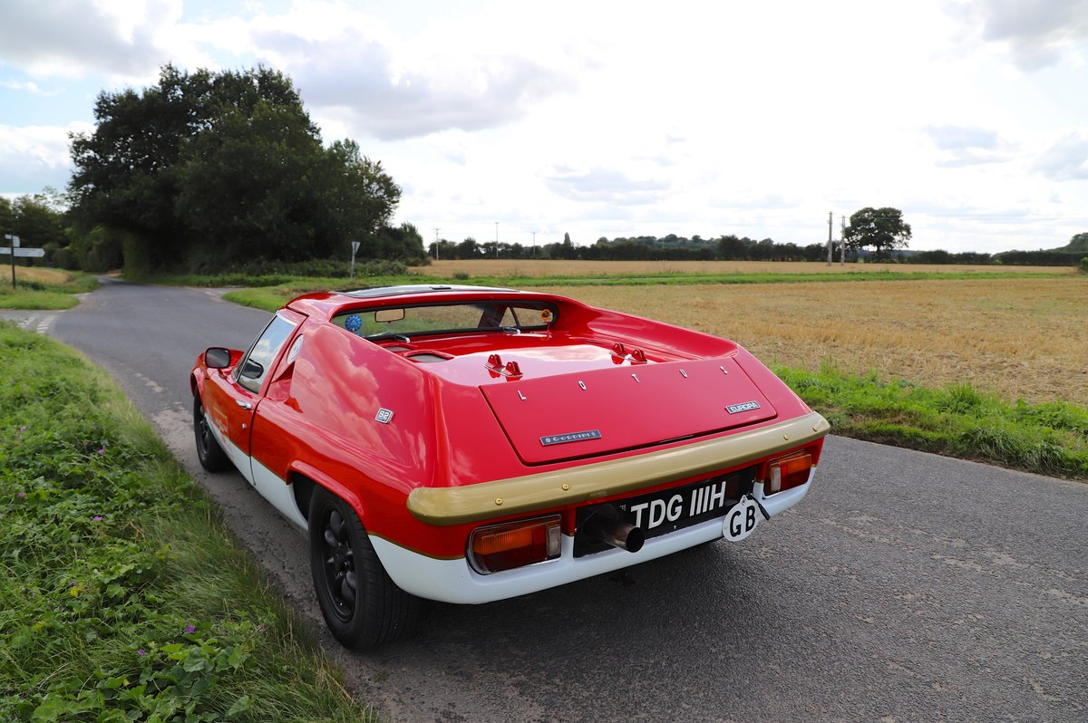 Lotus Europa S2, 1970. Rebuilt and re-engineered.  For Sale (picture 3 of 6)