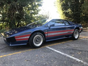1981 Lotus Esprit Turbo Essex Commemorative Edition For Sale