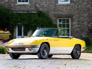 1972 LOTUS ELAN SPRINT DROPHEAD COUPÉ For Sale by Auction