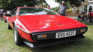 1979 Lotus Esprit S2  ex. Carlos Reutemann 12 Sep 2019 For Sale by Auction