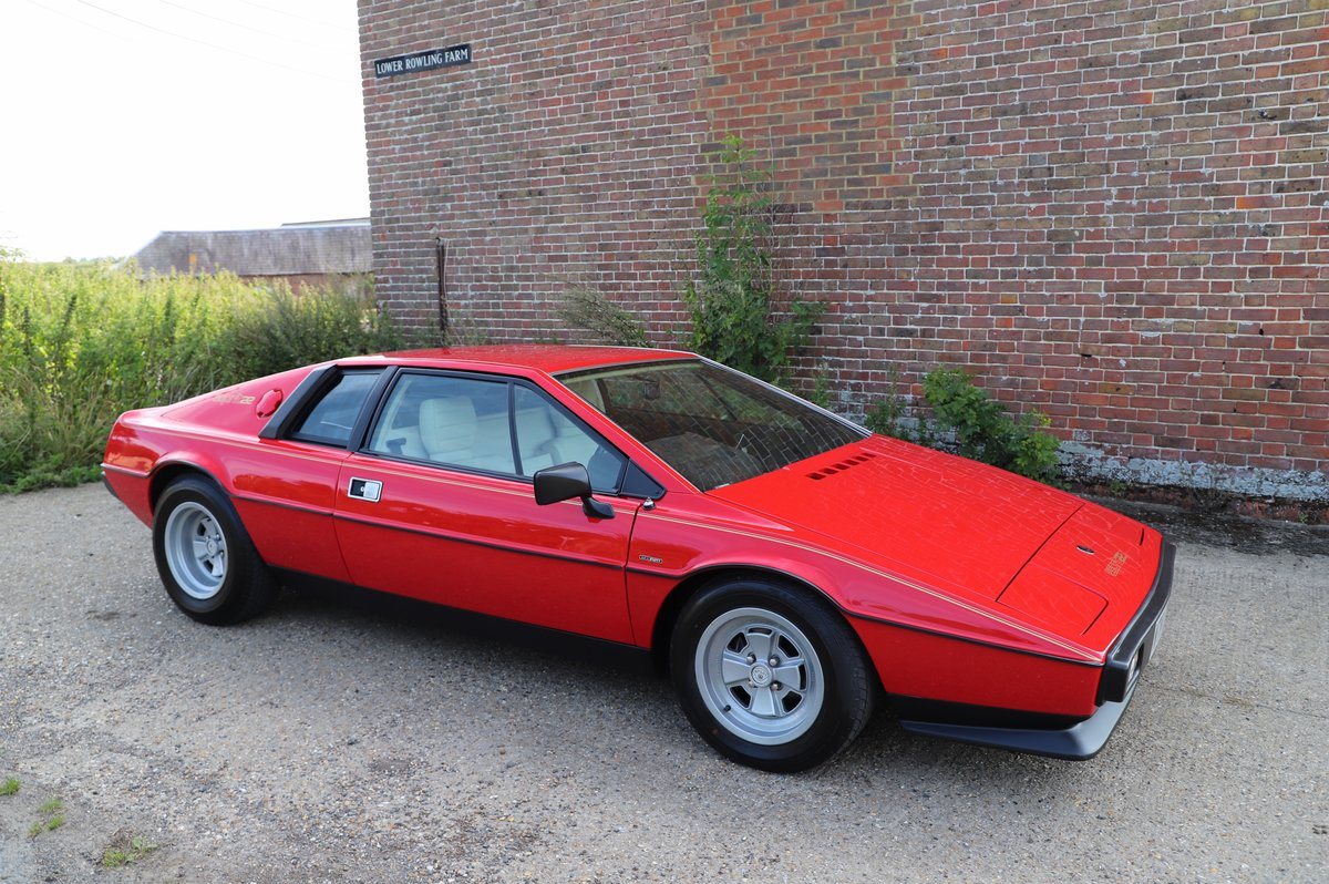 Lotus Esprit S2.2, 1980. Enormous restoration completed. For Sale (picture 1 of 6)