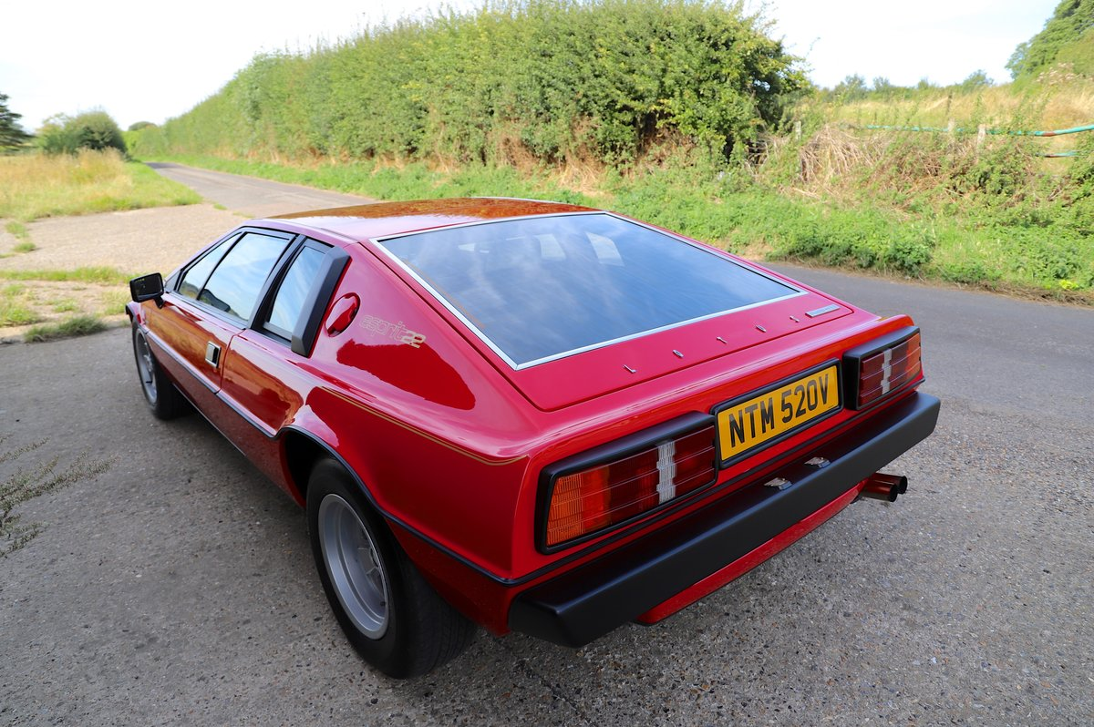 Lotus Esprit S2.2, 1980. Enormous restoration completed. For Sale (picture 2 of 6)