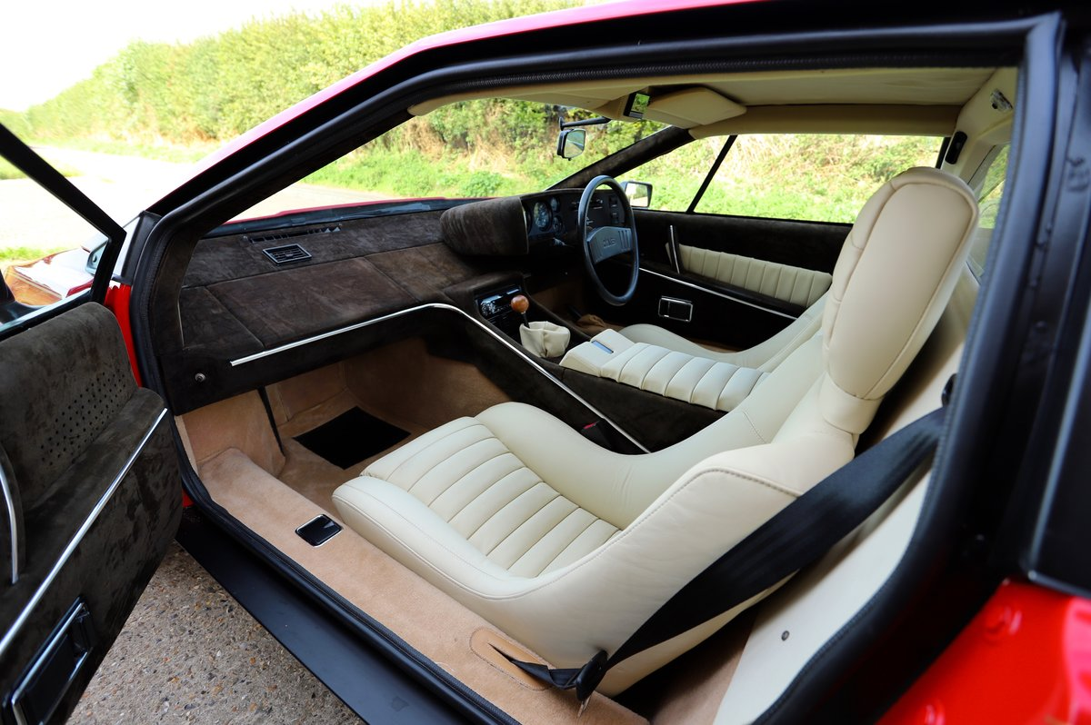 Lotus Esprit S2.2, 1980. Enormous restoration completed. For Sale (picture 5 of 6)